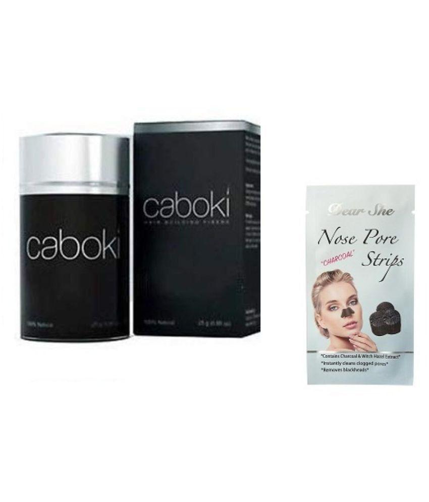Caboki Hair Fibers with Nosepore strip 25 g