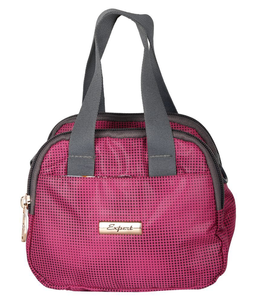 Expert Bags Pink P.U. Sling Bag