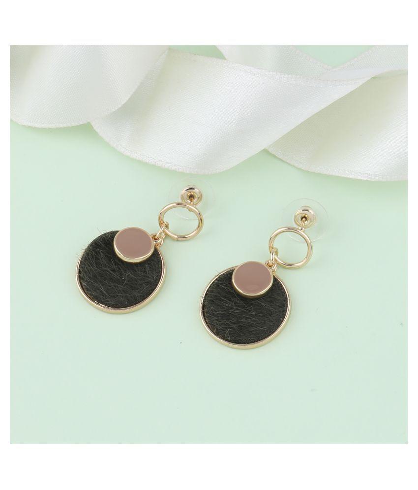 SILVER SHINE Designer Stylish Party Wear Droop Earring For Women Girl