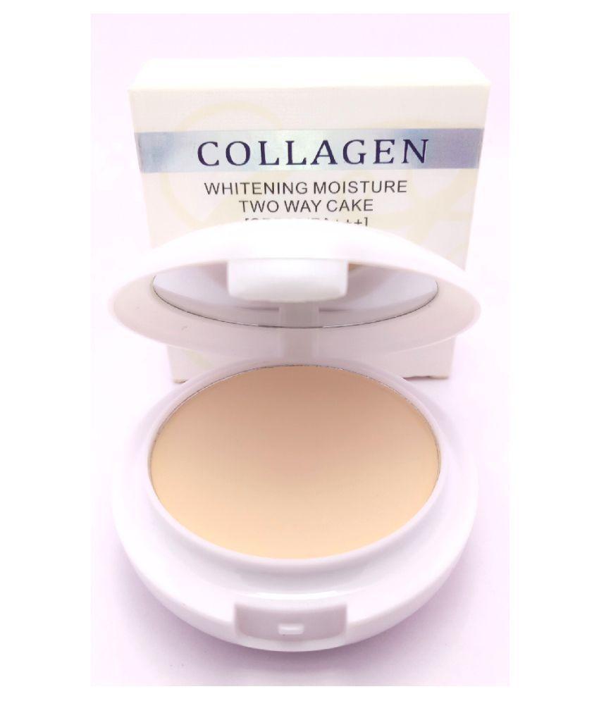 Collagen 3 IN 1 Whitening Moisture 2 Way Pressed Powder Light 45 g