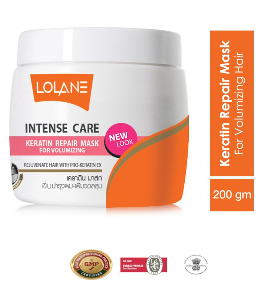 Lolane Keratin Repair Hair Mask Cream 200 g