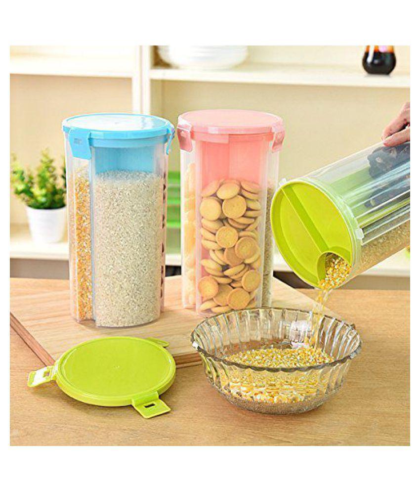 analog kitcheneware food dispenser box Polyproplene Food Container Set of 1 1500 mL