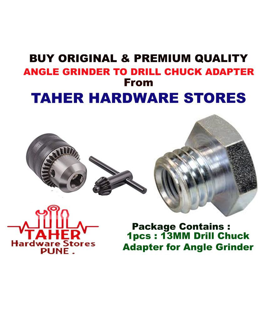 THS ANGLE GRINDER 801/810 DRILL CHUCK ATTACHMENT FOR ANGLE GRINDER WITHOUT DRILL CHUCK