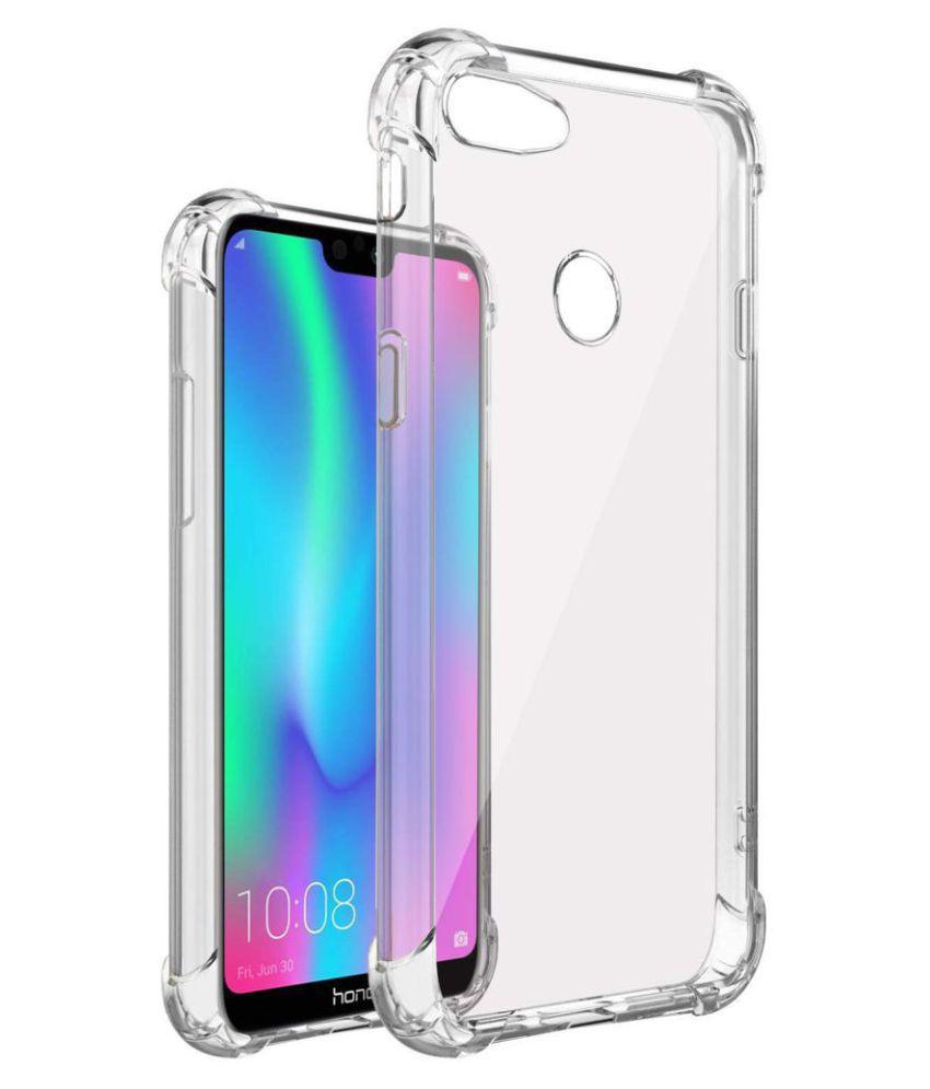 Samsung Galaxy J4 Shock Proof Case Hopsack - Transparent