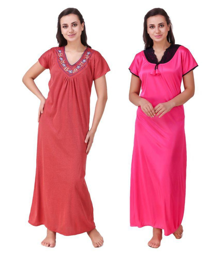keoti Hosiery Nighty & Night Gowns - Multi Color