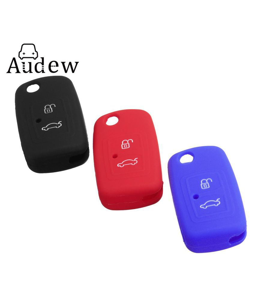 57d5aa02640f Silicone Flip Remote Key Fob Holder Cover Case Protector 2 Buttons For  CHERY M11 A13 A3 A5 E5