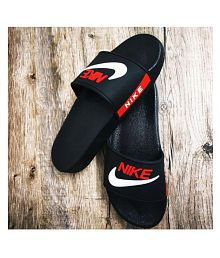 b753976198fc Size 6 6.5 7 7.5 8 8.5 9 9.5 10. Quick View. Nike Black Slide Flip flop