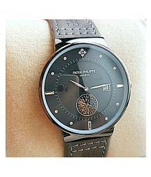 PatekPhilippe Fastrack Leather Analog Men's Watch