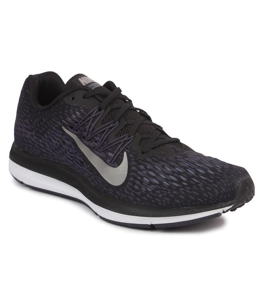db417a0e32c Nike ZOOM WINFLO 5 Black Running Shoes - Buy Nike ZOOM WINFLO 5 Black  Running Shoes Online at Best Prices in India on Snapdeal