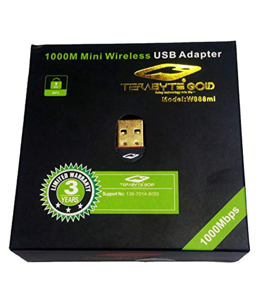 Terabyte USB Adapter 1000 Mbps 3.0 Wifi Dongles