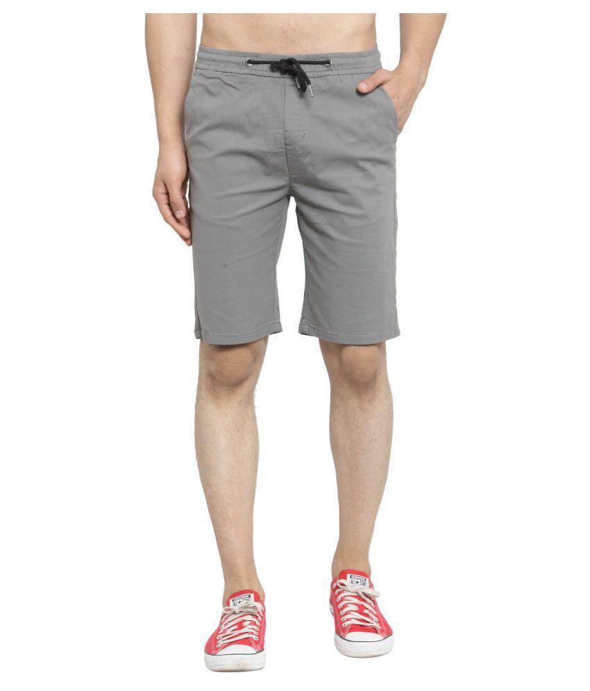 Global Republic Grey Shorts Single