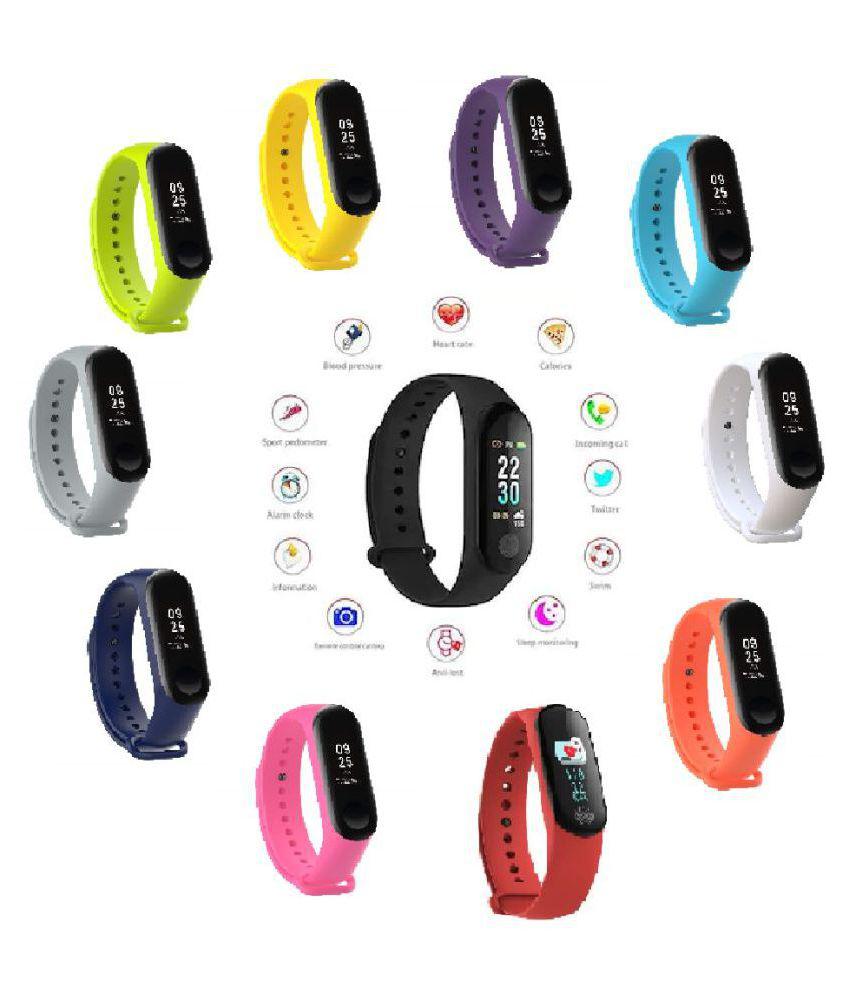 NOISE M3 PLUS IP67 Waterproof Blood Pressure Sleep Heart Rate Wristband Pedometer Fitness Band