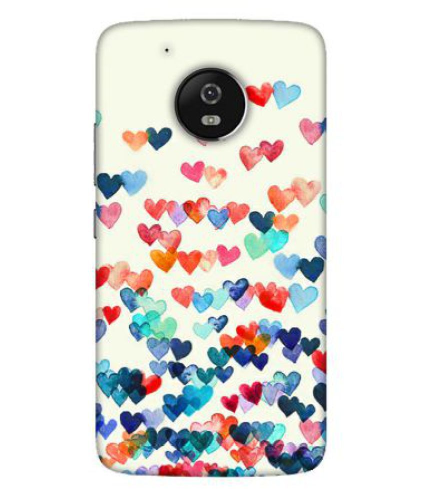 Moto G5 Plus Printed Cover By Emble