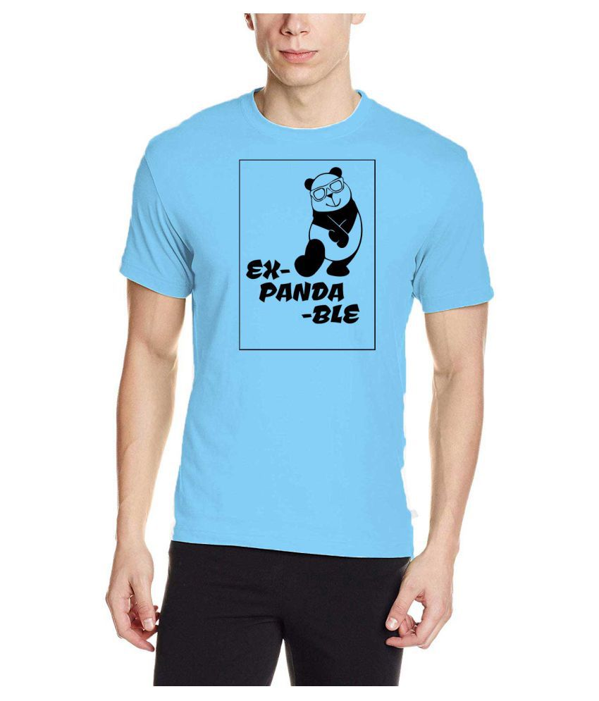 NAVI JERSEY Blue Half Sleeve T-Shirt Pack of 1