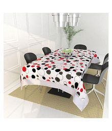 Ak Traders 6 Seater PVC Single Table Covers