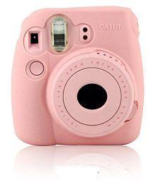 Fuji Instax Polaroid Camera Silicone Case Mini8 Mini 9 Camera Protective Case