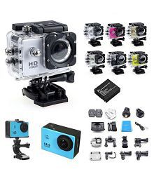 Waterproof 30m 4K Wifi HD 1080P Ultra Sports Action Camera DVR Cam Helmet Camcorder Support Remote Control