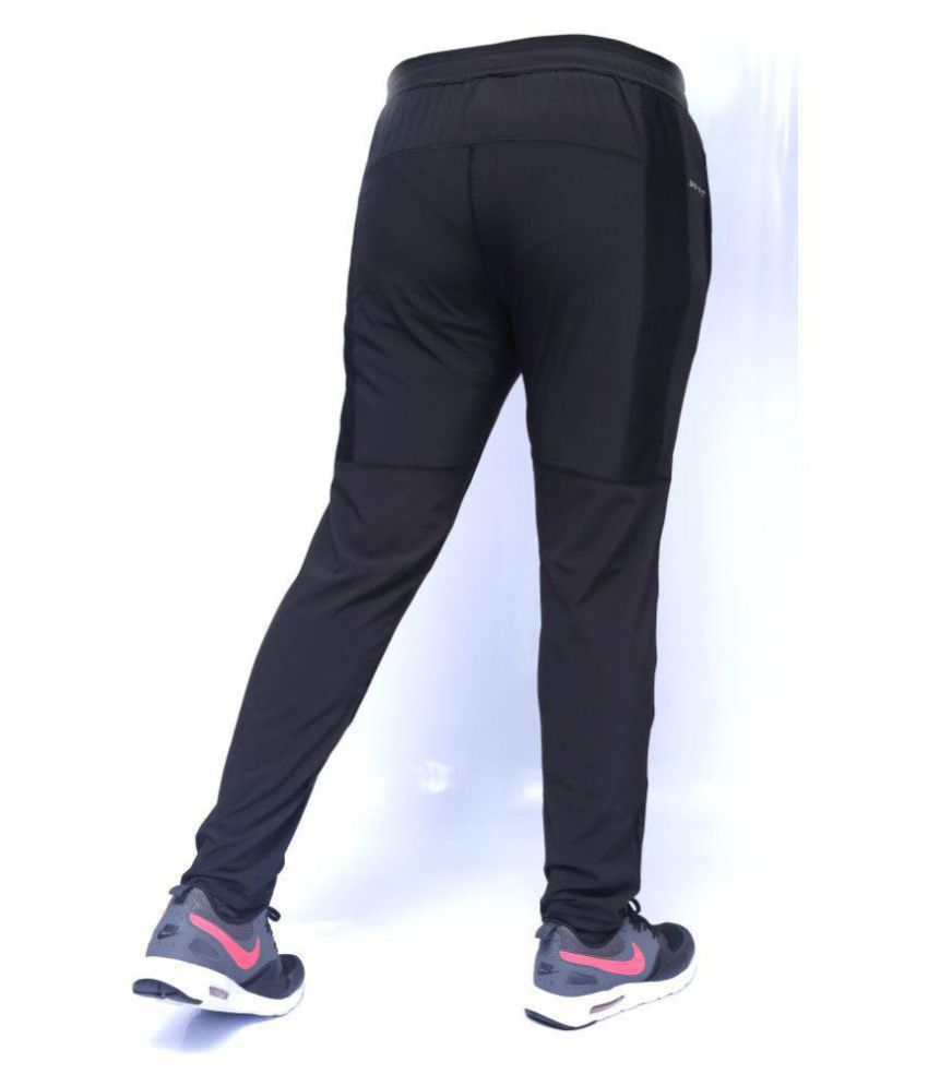 promo code 9151d 8dbe5 Nike Black Ultraboost Dry-Fit Trackpant