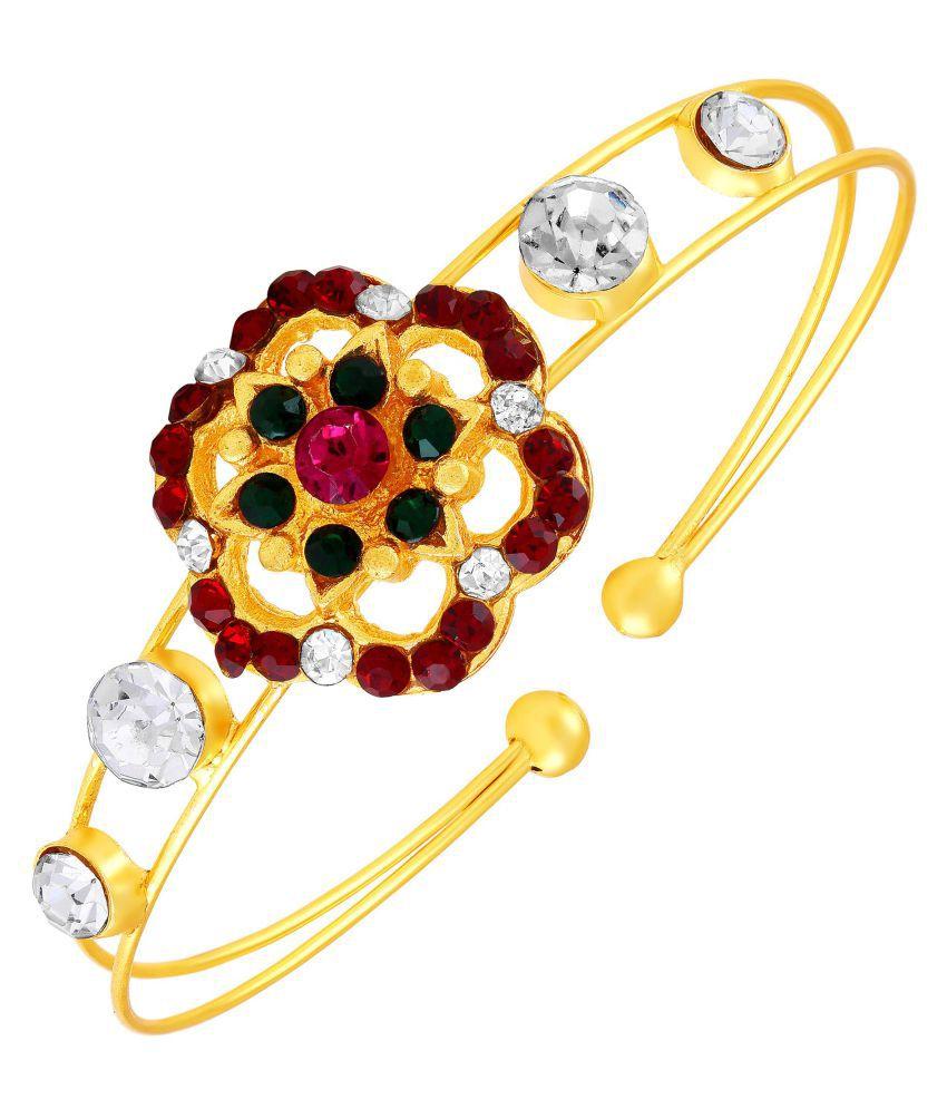 MFJ Fashion Jewellery Wedding Collection Long-lasting Single Bracelet Kada For Women