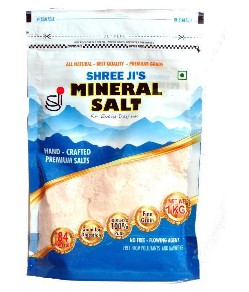 Shree Ji industries Himalayan Pink Salt 1 kg