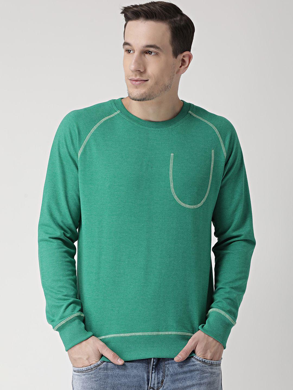 Club York Green Round Sweatshirt