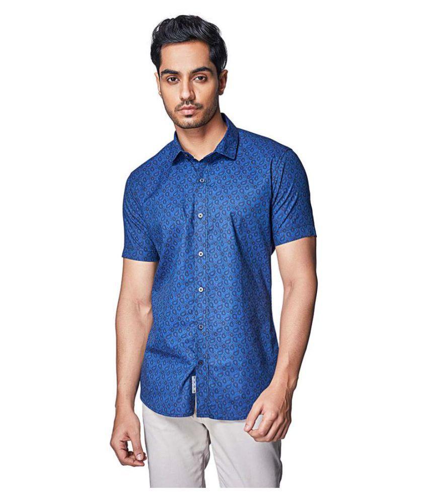 EVOQ 100 Percent Cotton Shirt