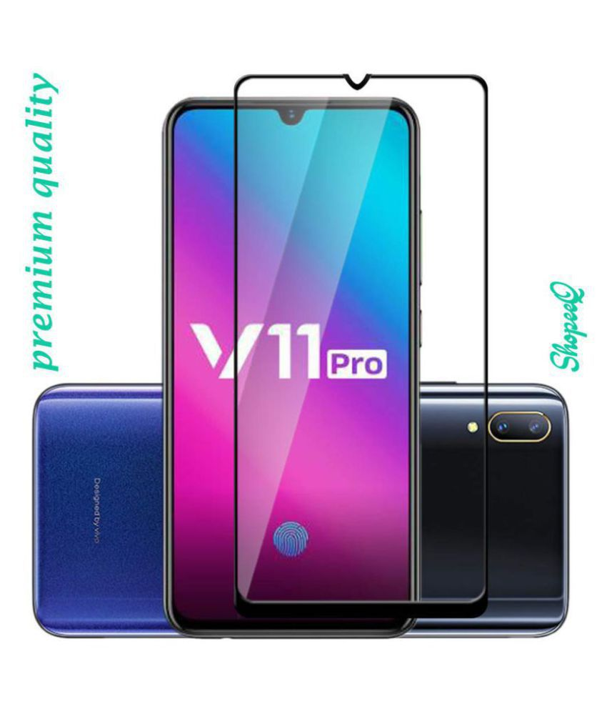 Vivo V11 Pro Tempered Glass Screen Guard By XORB Full edge to edge screen protection