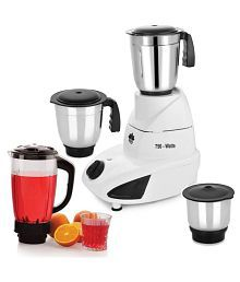 BMS Lifestyle 3 Steel &1Juicer Jar 750 Watt 4 Jar Juicer Mixer Grinder