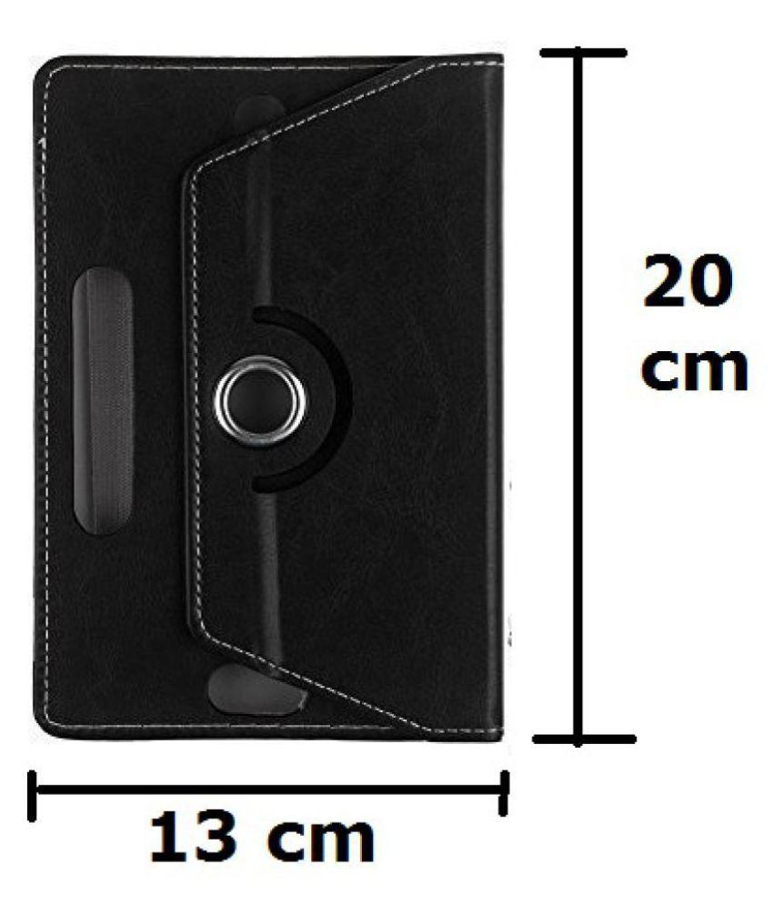 premium selection 83c8a e3ffa Samsung Galaxy Tab 3V T116 Flip Cover By TGK Black