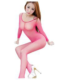 b947dd8ead763 Fishnet See-through Crotchless Women Bodystocking Sexy Solid Color Bodysuit