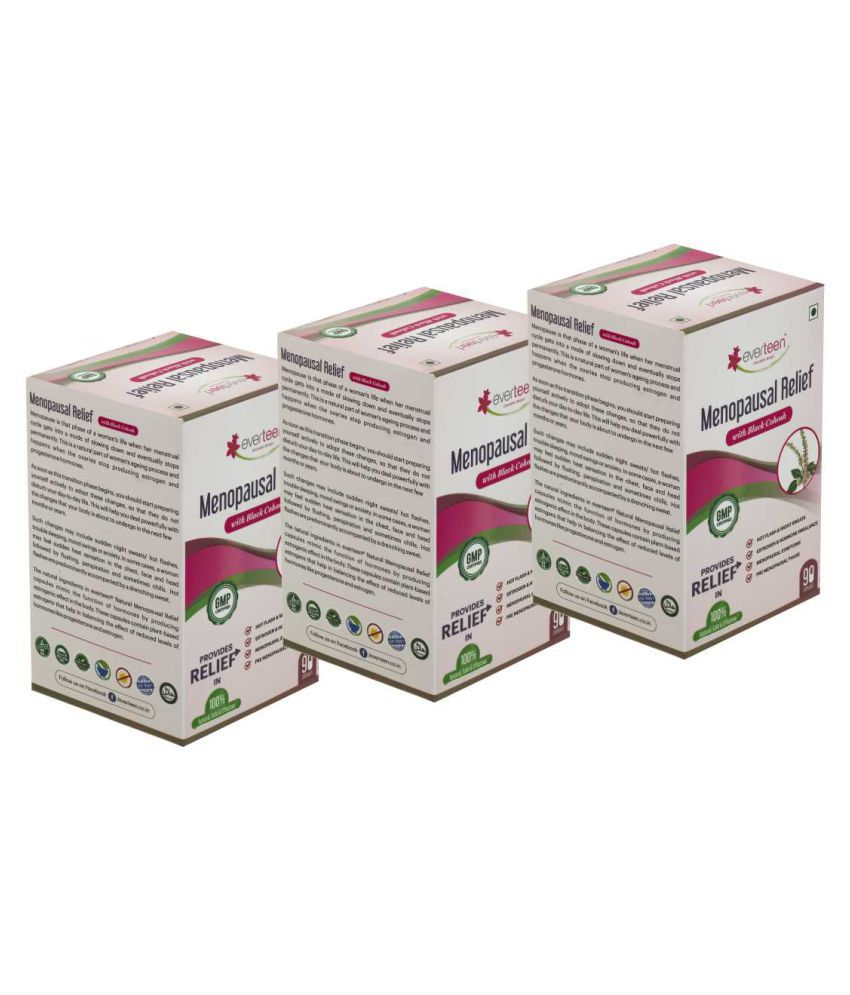 Everteen Menopausal Relief 270 no.s Unflavoured Pack of 3