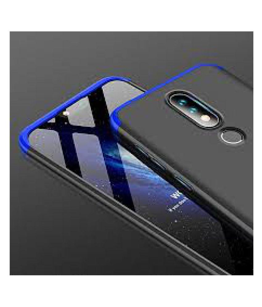 Nokia 6.1 Plus Bumper Cases MOBLET - Black