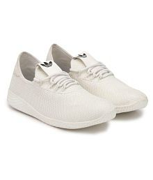 foot4feet Lifestyle White Casual Shoes