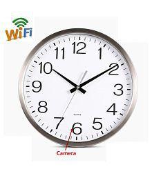 Wall Clock Spy Hidden Camera DVR WiFi 1080P HD Motion Detector Nanny Record Cam