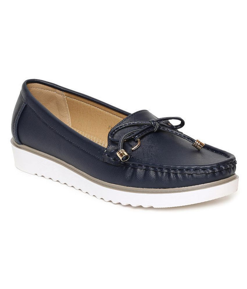 Addons Navy Casual Shoes