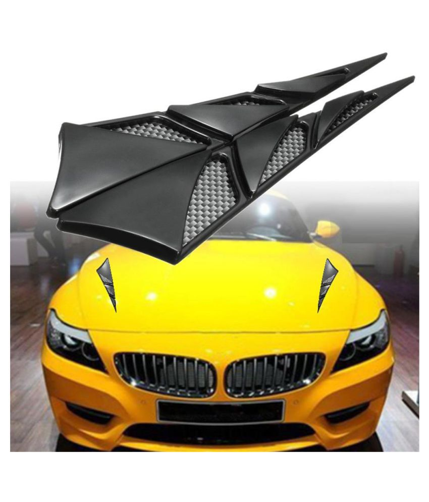 Universal Car Hood Side Air Intake Flow Vent Cover