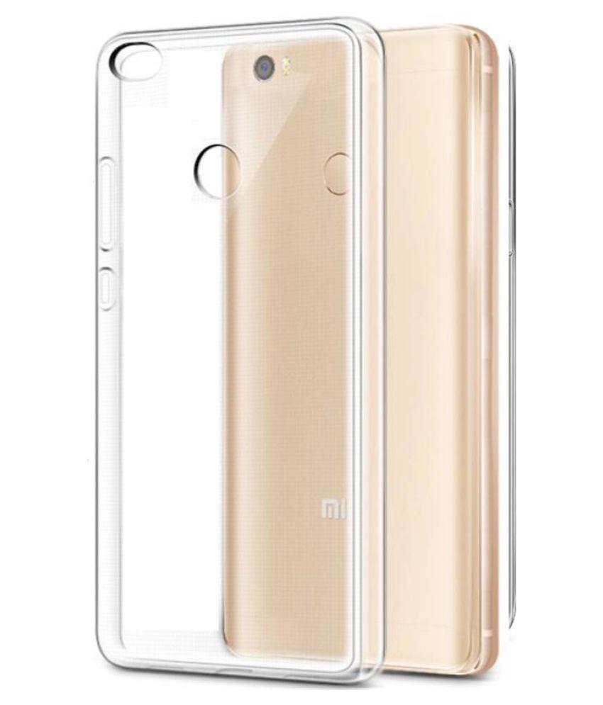 Xiaomi Redmi 3s Prime Plain Cases Cellmate - Transparent AntiScratch Soft Mobile Case and Cover