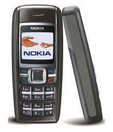 1600 NOKIA PHONE 1600 Black