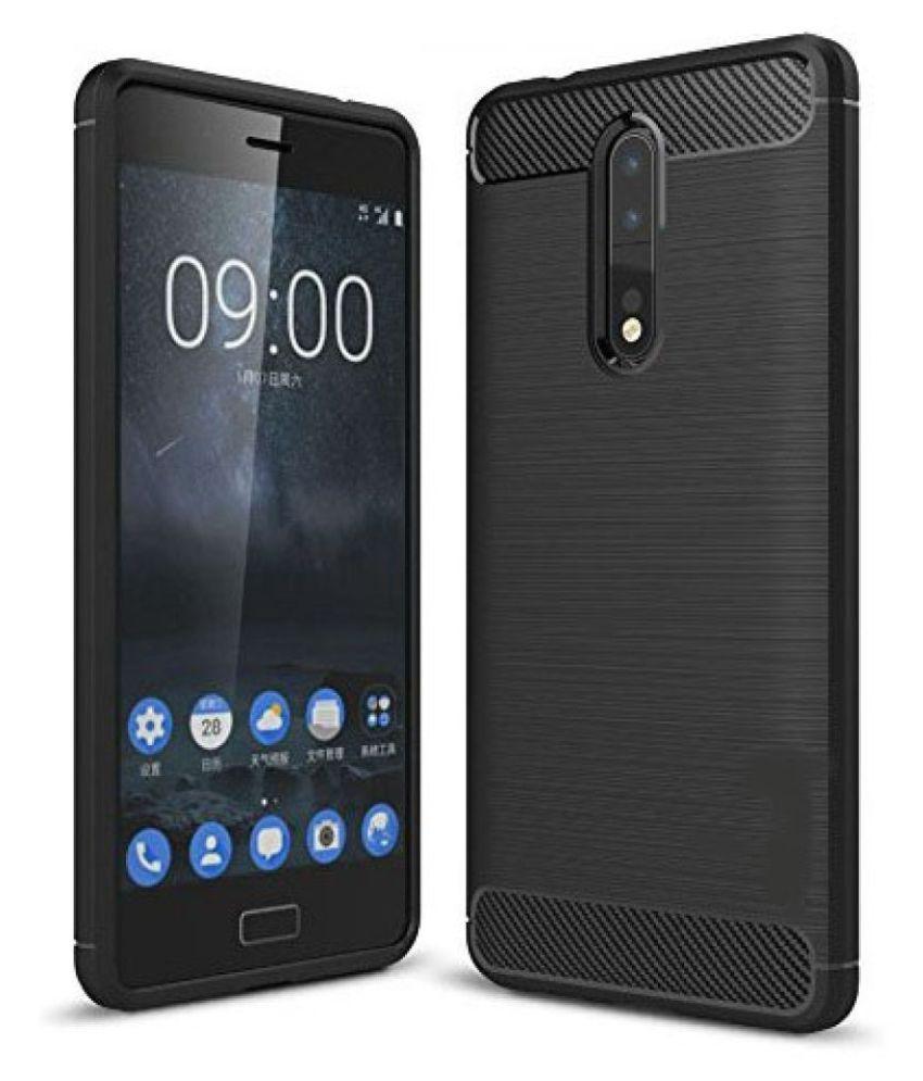 Nokia 8 Hybrid Covers SLR - Black