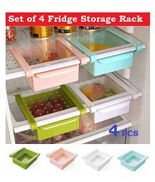 Jen 4pcs Fridge Rack Multicolor 4 Pcs
