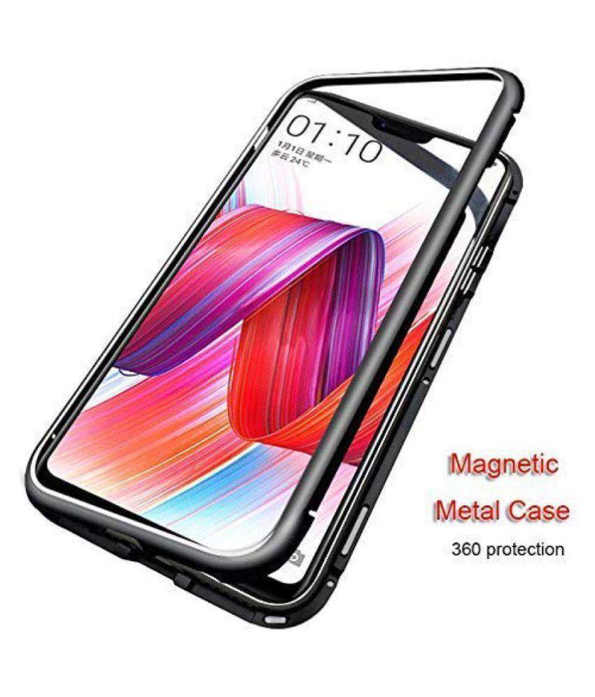 designer fashion 44d1c 9c046 Xiaomi Redmi Note 6 Pro Magnetic Cover Case MOBLET - Black