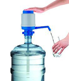 Drinking Water Pump filter dispenser_ Brand/Colour May Vary as per Stock Availability