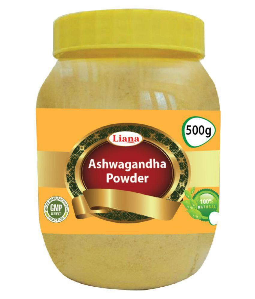 Liana Ashwagandha Powder 500 gm Pack Of 1