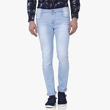 Mufti Light Blue Skinny Jeans