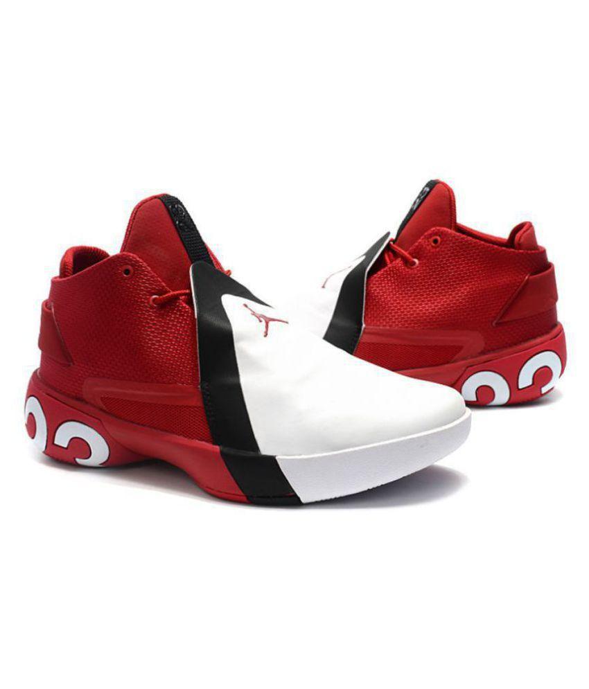 8b4e4d33f987b Nike Jordan Ultra Fly 3 White Basketball Shoes