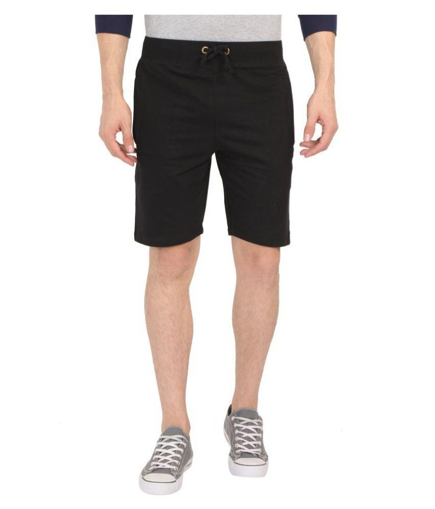vboys Black Shorts