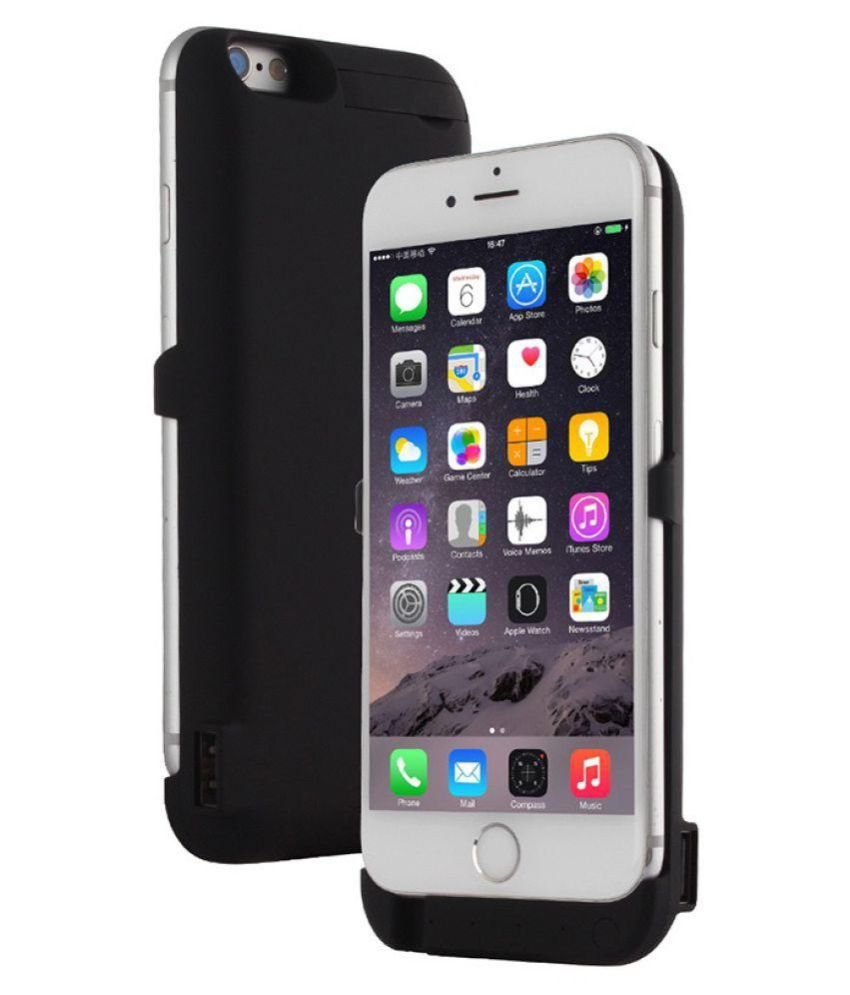 timeless design dc06b 76c86 Power Bank Case 5500mAh for iPhone 6 iPhone 6S iPhone 7 iPhone 8 Portable  Clip Rechargeable Case External Battery Pack with Sync Through Extended ...