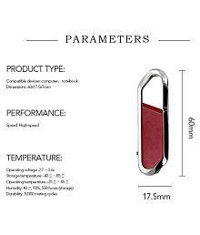 KBR CARABINER HOOK 32GB USB 2.0 Fancy Pendrive Pack of 1