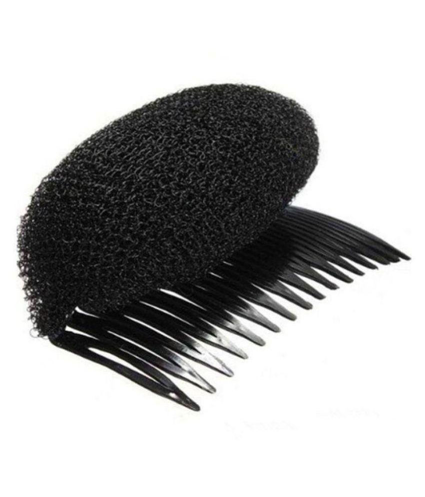 Royal Dreams Black Casual Hair Puff