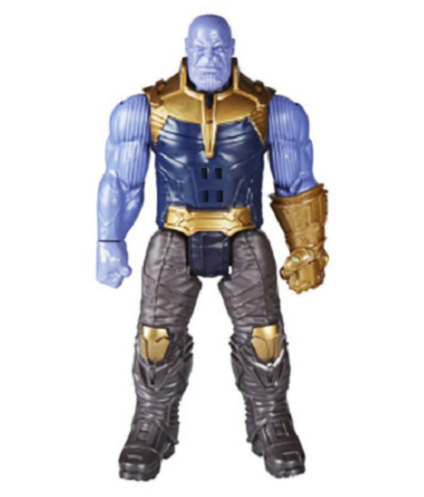 Marvel Avengers Infiinity War Thanos 30 Cms  Action Figure With Sound  Effect And LED Light On Chest - Desktop Toy